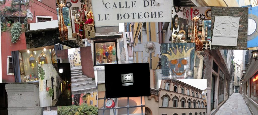 Venezia zona calle de le botteghe e dintorni
