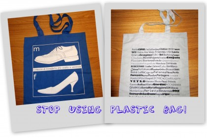 Stop using plastic Bag Venezia