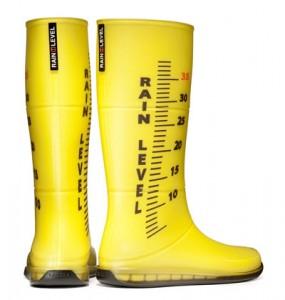 rain level stivali gialli