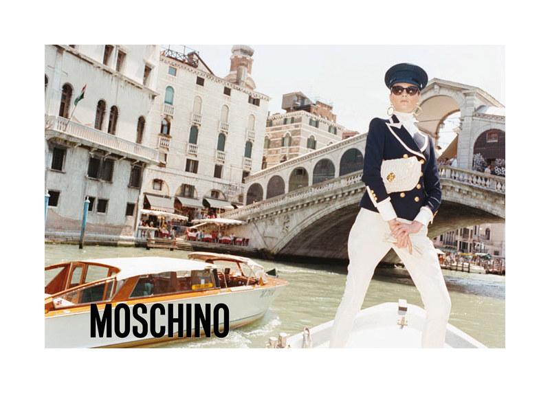 Moschino Campaign Fall 2011 Venice