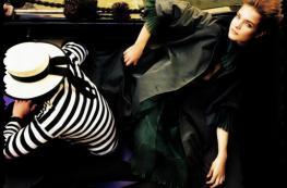 Natalia Vodianova by Mario Testino in Venice