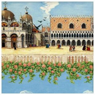 Il Papiro Venice-70x100cm Wrapping Paper