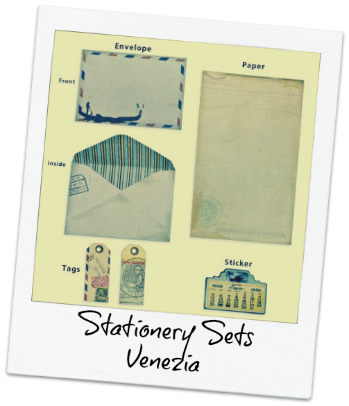 Stationery Sets Venezia
