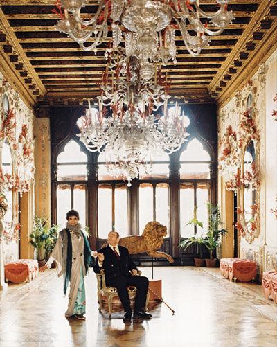 Mr Mrs Rosenkras Palazzo Brandolini Venezia
