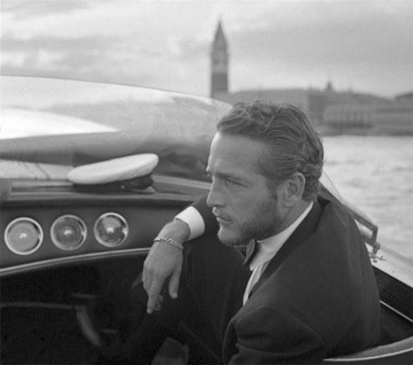 Paul Newman in Venice 1963