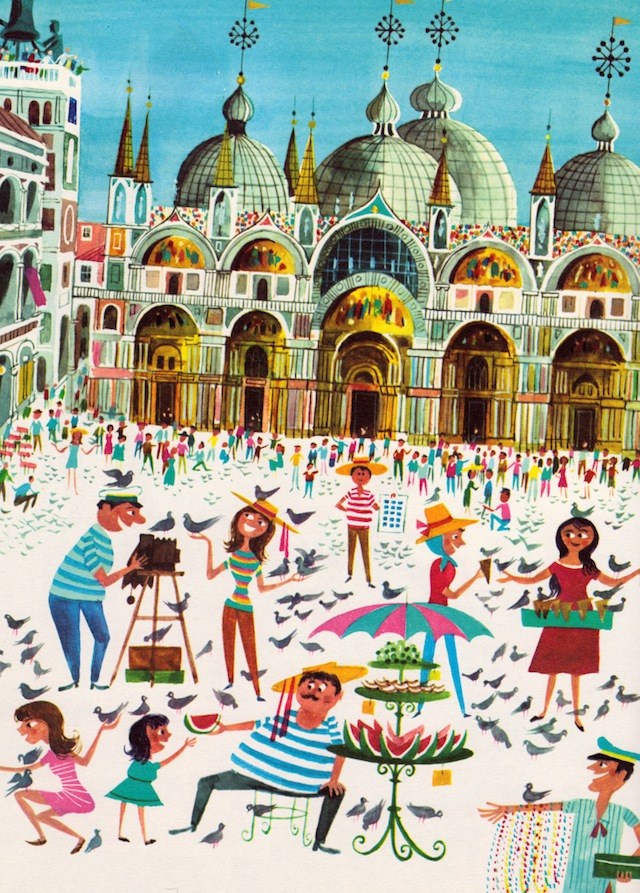 Richard Erdoes Piazza San Marco Venezia
