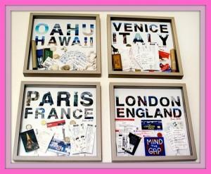 save maps tickets souvenir Venice