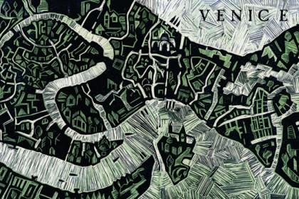 linocut illustrated map abigail daker