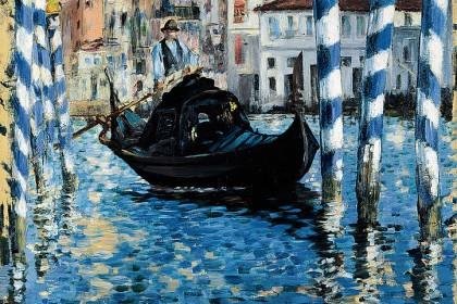 Eduard Manet Le grand Canal à Venise