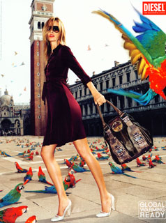 diesel warming ready campaign venice