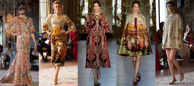 Alta Moda Dolce & Gabbana Venezia 2013