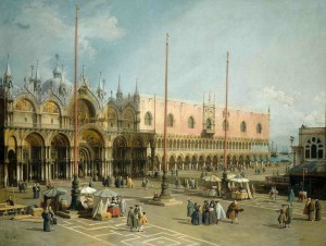 Canaletto, Piazza San Marco and the Piazzetta, 1743