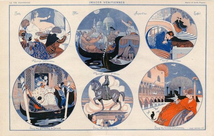 images venitiennes brunelleschi 1913