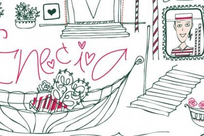 Illustration & lettering Venecia by Mimi 2