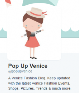 New Character Twitter PopUpVenice 2015