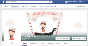 New Facebook Page PopupVenice
