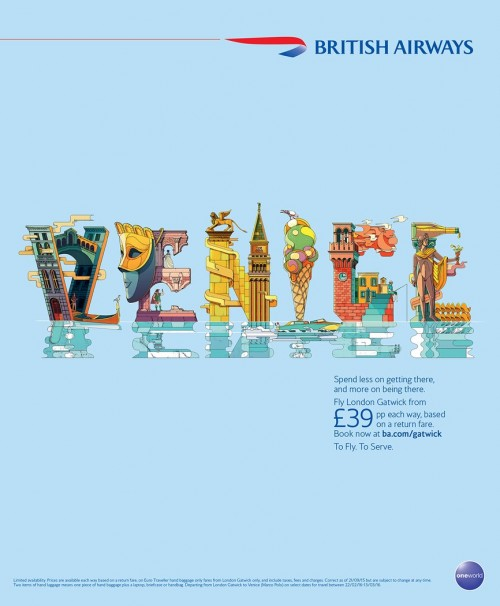 British Airways Venice Adv