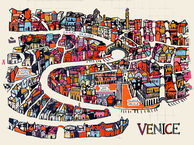 Anna Hymas Illustration_venice